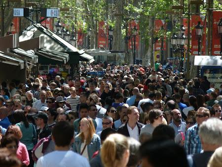 Obiective turistice Barcelona: Ramblas
