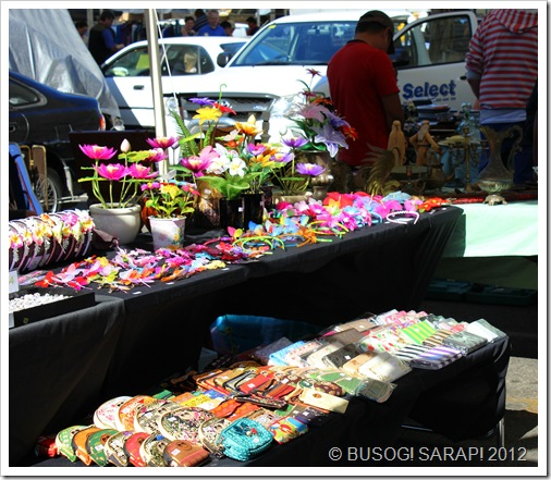 ACCESSORIES STALL, ROCKLEA SUNDAY DISCOVERY MARKET© BUSOG! SARAP! 2012