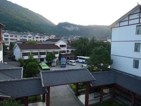 Imagini China: Dimineata din hotel
