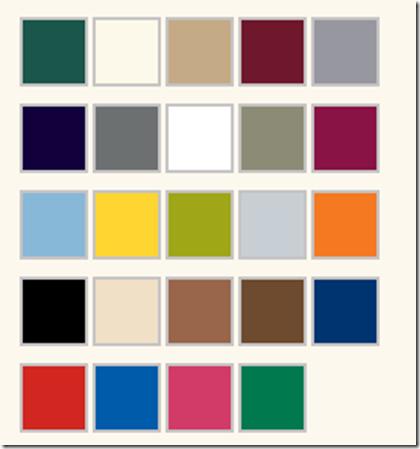 Krylon Dual Color Chart