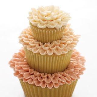 Triple-Tier Flower Cakes