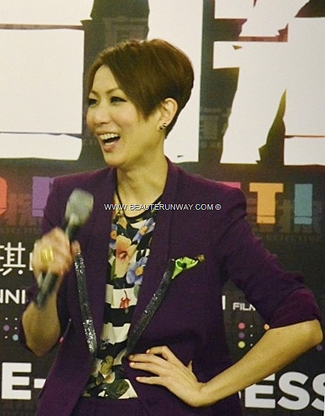 Sammi Cheng Hong Kong stars Andy Lau Blind Detective , director award winning film maker Johnnie To Hong Kong Singapore cinemas China Taiwan Beijing, Shanghai Gala Premiere held at Resorts World Sentosa