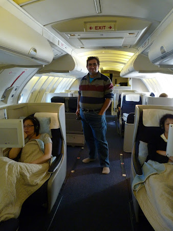 British Airways Boeing 747 Business Class