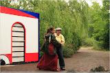 Opa und Oma tanzen