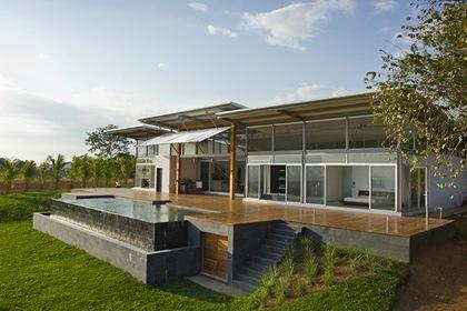 Arquitectura Sostenible Casa Mecano Roblesarq Arquitexs