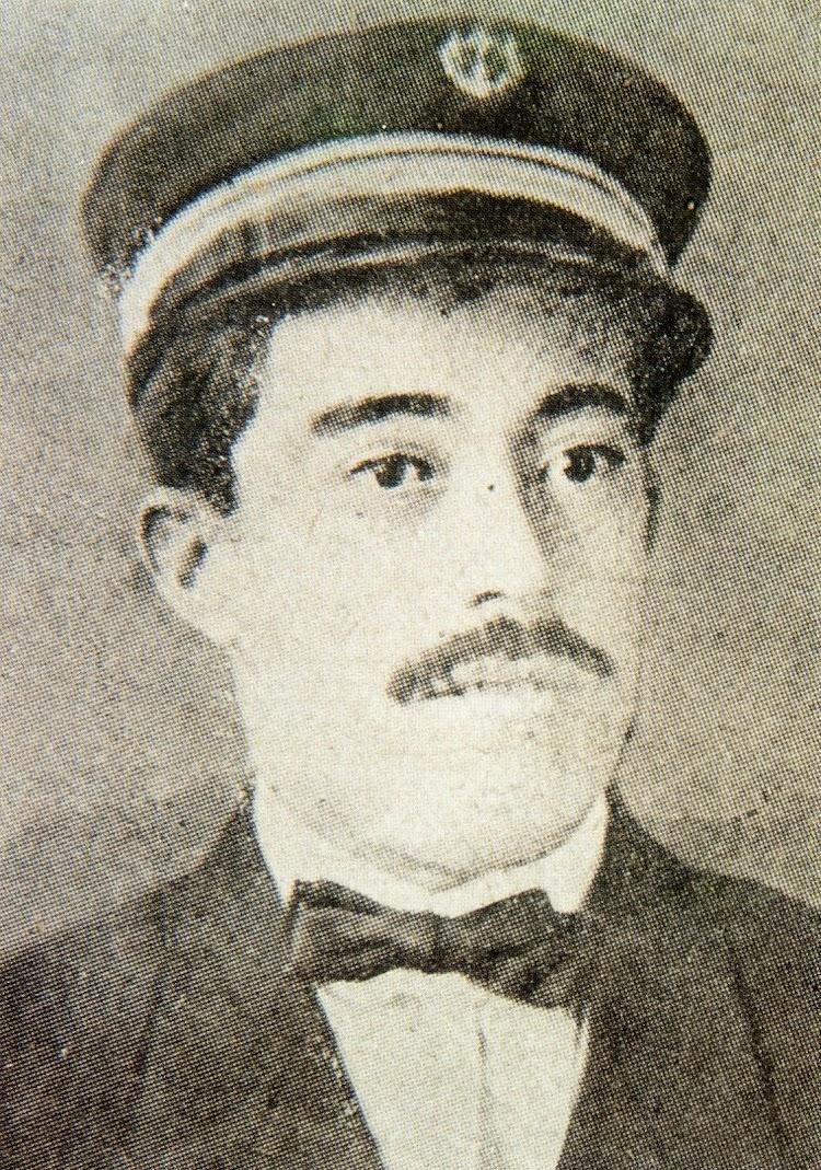 D. Pedro Garcia. 1º Oficial del VALBANERA. Del libro El Misterio del VALBANERA.jpg
