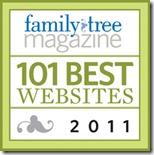 祖先的Insider是2011年的101个最佳网站之一
