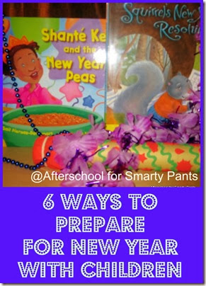 6 Ways to Prepare for New Year @Afterschool for Smarty Pants