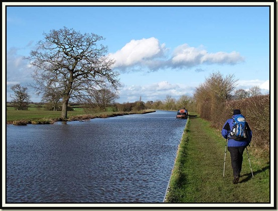 The Shropshire Union Canal near Audlem