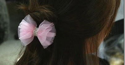 Fabric Bows And More Hair Ties By Love Hobbycraft