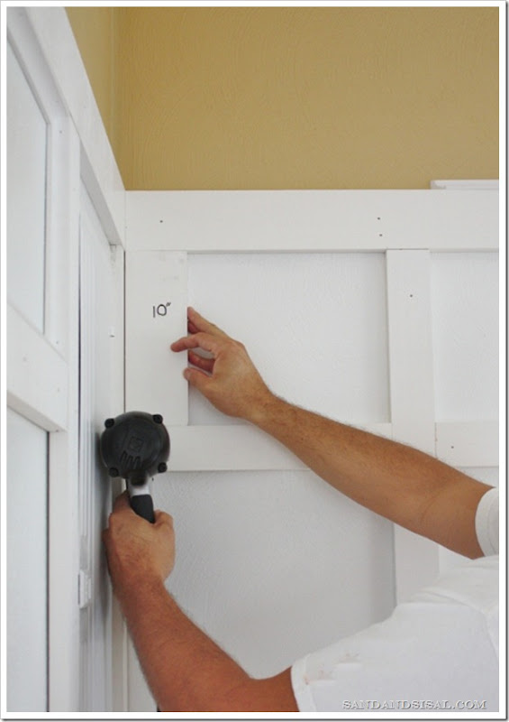 How to install board & batten