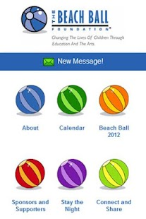 The Beach Ball Foundation - screenshot thumbnail