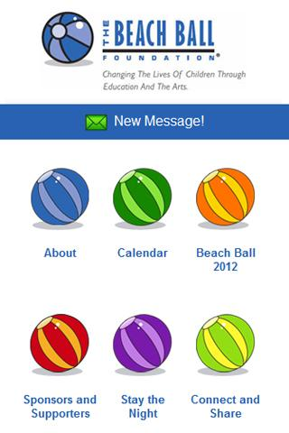 The Beach Ball Foundation - screenshot