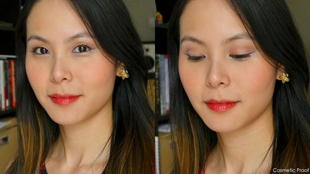 The Body Shop Enchanting Eye Palette 02 Dolly Pastels Lip Cheek Stain Review  Look