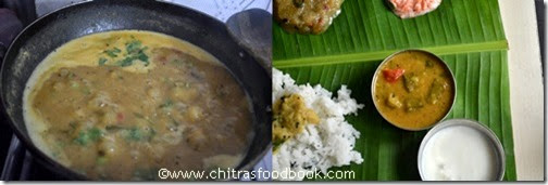 vendakkai sambar recipe step4