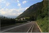 Straße nach Merano