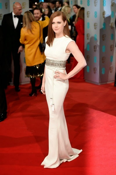 Amy Adams attends the EE British Academy Film Awards