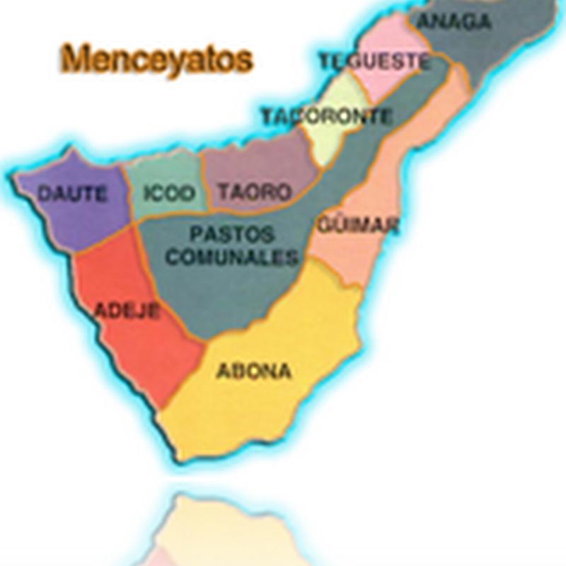Mapa De Tenerife Municipios.Isla De Tenerife Vivela Menceyatos De Tenerife