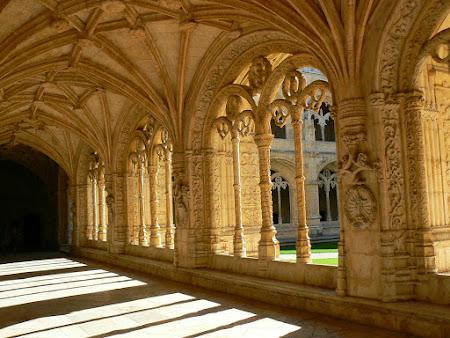 Imagini Portugalia: Manastirea Ieronimilor Lisabona