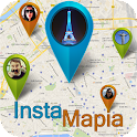 InstaMapia For Instagram icon