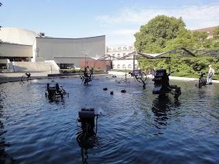 Fontaine Tinguely à Bâle
