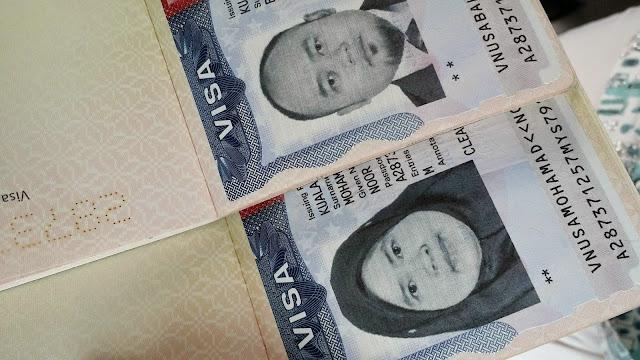 cara mohon visa US, Visa US 10 tahun, dministrative processing, Kedutaan US, visa sangkut, USA visa