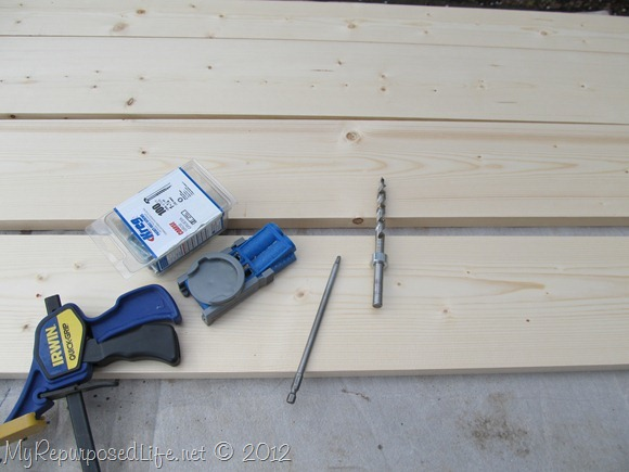 kreg jig to make bench seat (2)