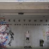 Inschrift am Eingang zum Spreetunnel