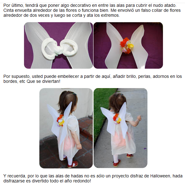 tutorial alas para disfraz