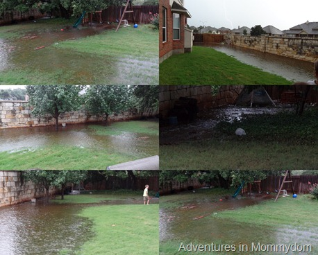 Backyard Flood 2012