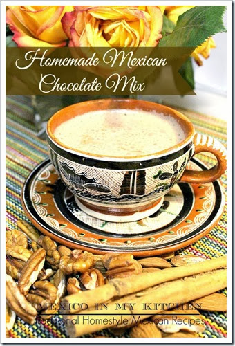 Mexican Hot Chocolate homemade mix