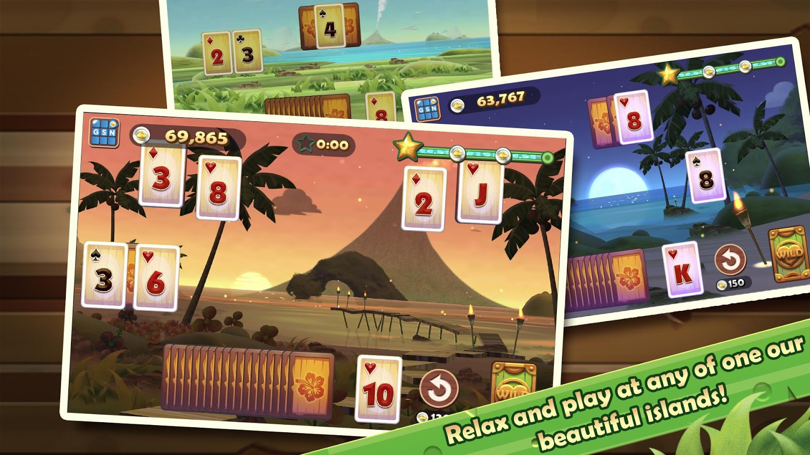 Solitaire TriPeaks - screenshot