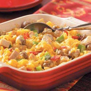 Pork Noodle Casserole.