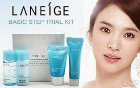 Review Laneige White Renew Trial Kit Untuk Jerawat