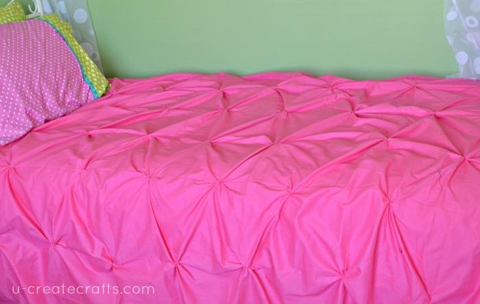Pin Tucked Duvet Cover