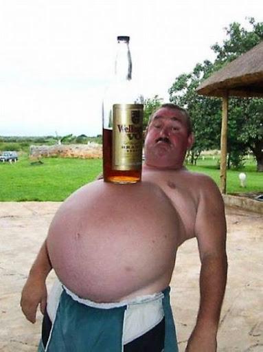 От пива набирается вес