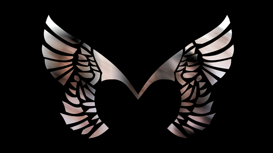 Placebo Wings Black