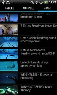 Unaerobic Apnea Trainer - screenshot thumbnail