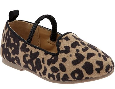 leopard loafers old navy