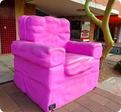 The Big Pink Chair
