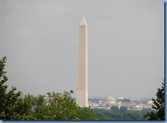 1444 Arlington, Virginia - Washington Monument from Arlington National Cemetery