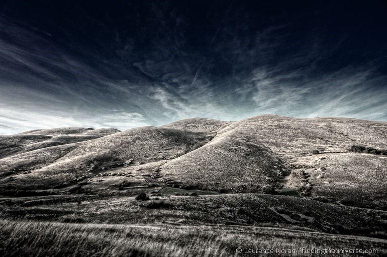hills of abruzzo infrared