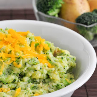 Cheesy Broccoli-Potato Mash