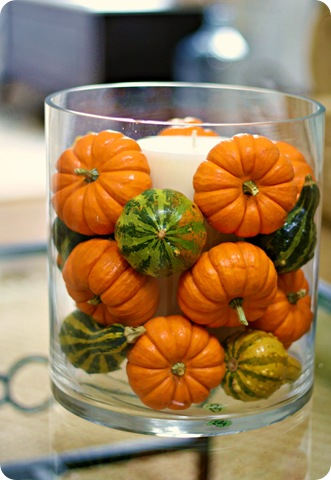 Mini Pumpkins Three Ways Fall Linky From Thrifty Decor Chick