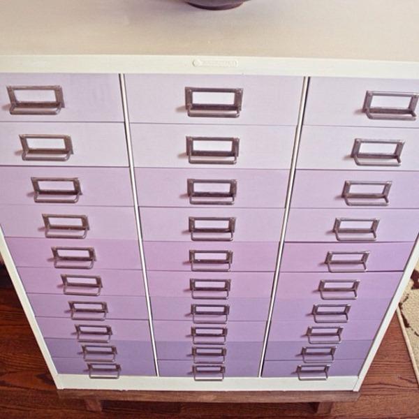ciburbanity lavender filing cabinet