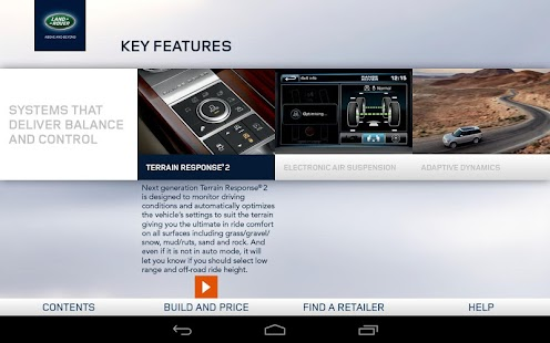 2013 Range Rover Spec Guide - screenshot thumbnail
