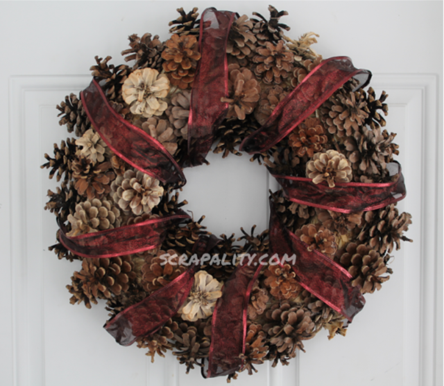 pineconewreath7