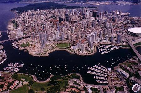 Imagine de sus Vancouver