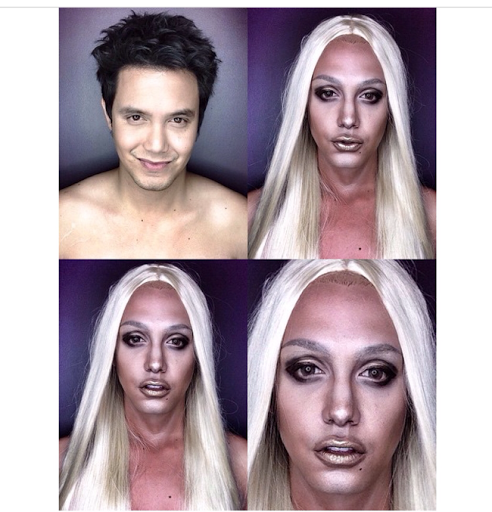 PHOTOS: Dad Transforms Himself Into Celebrities Using Makeup And Wigs 30