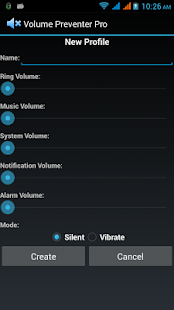 Volume Preventer or Locker - screenshot thumbnail